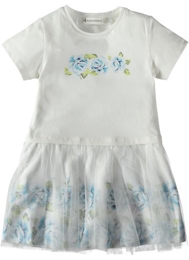 Tüllü Elbise-Asymmetry